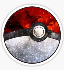 Pokeball Galaxy Sticker