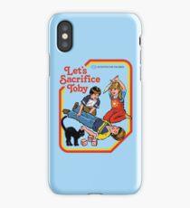 Let's Sacrifice Toby iPhone Case/Skin