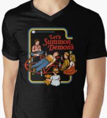 Let's Summon Demons V-Neck T-Shirt