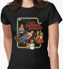 Let's Summon Demons Fitted T-Shirt