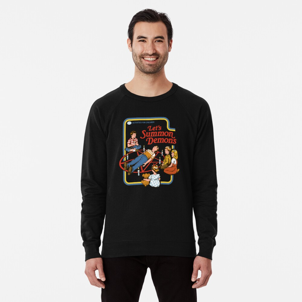 Sweatshirt léger «Invoquons des démons»