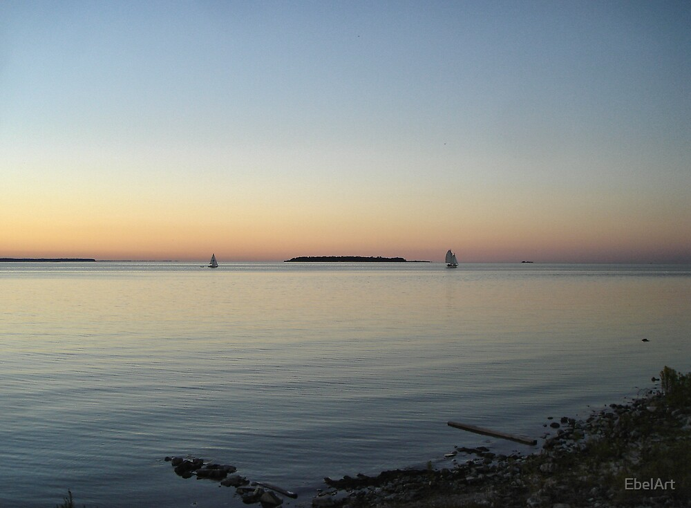 Sunset Horizon by EbelArt
