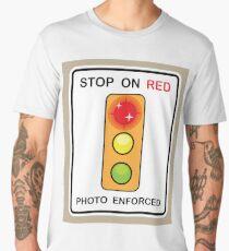 Stop on Red sign Men's Premium T-Shirt
