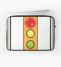 Stop on Red sign Laptop Sleeve