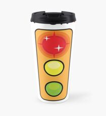 Stop on Red sign Travel Mug