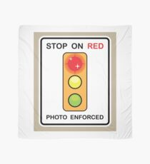 Stop on Red sign Scarf