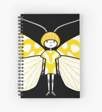 Mothboy03 Spiral Notebook