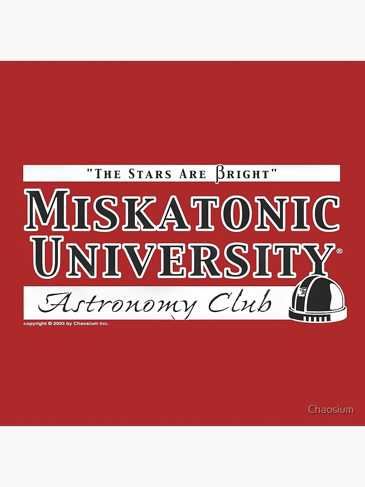 'The Stars are Bright' - Miskatonic University Astronomy Club by Chaosium