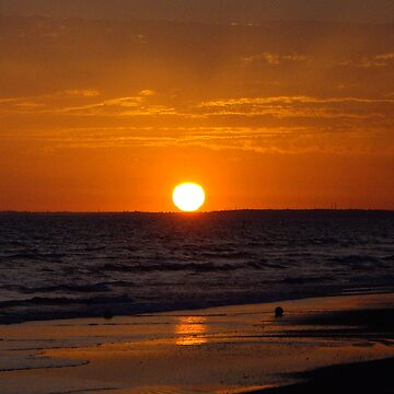Spanish sunset by viba