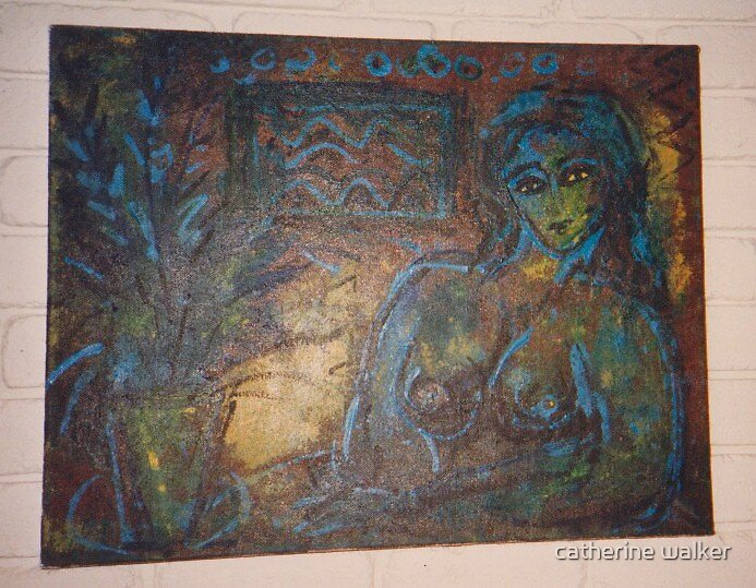 blue nude and the lost pair by catherine walker