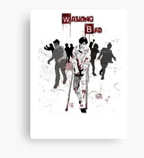 Walking Bad Canvas Print