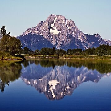 Mount Moran And Snake River by alex4444