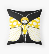 Mothboy03 Throw Pillow