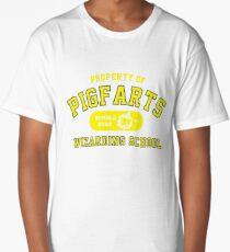 Starkid: Pigfarts wizarding school (yellow) Long T-Shirt