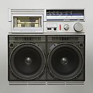 Old School Boom Box by adamcampen