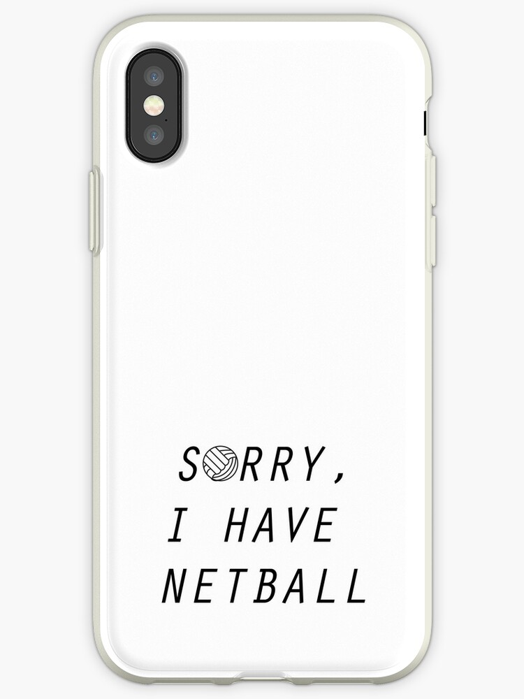 netball iphone 7 case