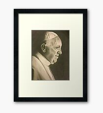 His Excellency  Framed Print