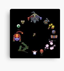 Link to the Past Bosses Canvas Print