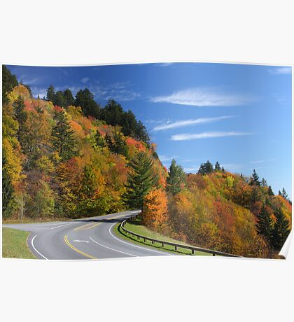 Newfound Gap Road Poster