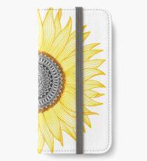 Golden Mandala Sunflower iPhone Wallet/Case/Skin