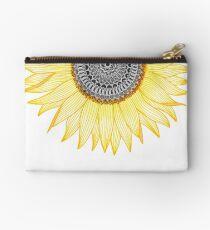 Bolso de mano Golden Mandala Sunflower