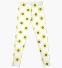 Golden Mandala Sunflower Leggings