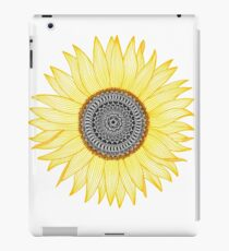 Vinilo o funda para iPad Golden Mandala Sunflower
