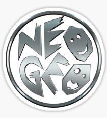 Neo Geo Chrome Sticker