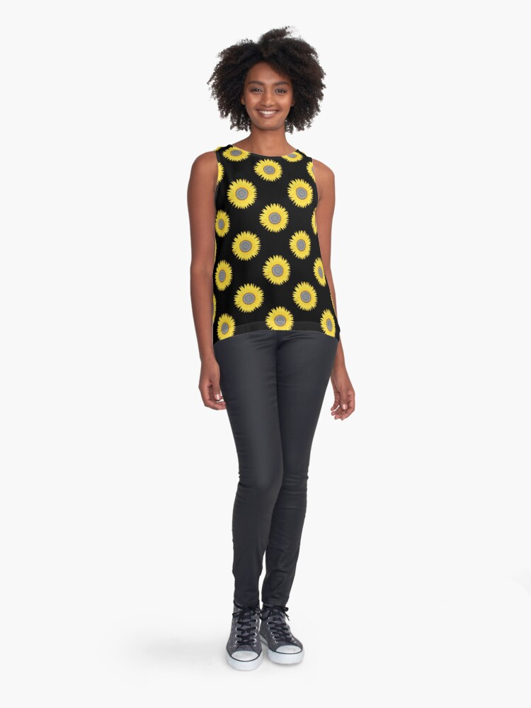 Alternate view of Mandala Sunflower Sleeveless Top