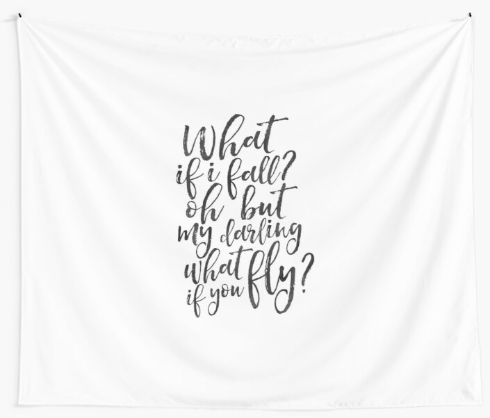 What if i fall oh my darling what if you flywomen giftsgift