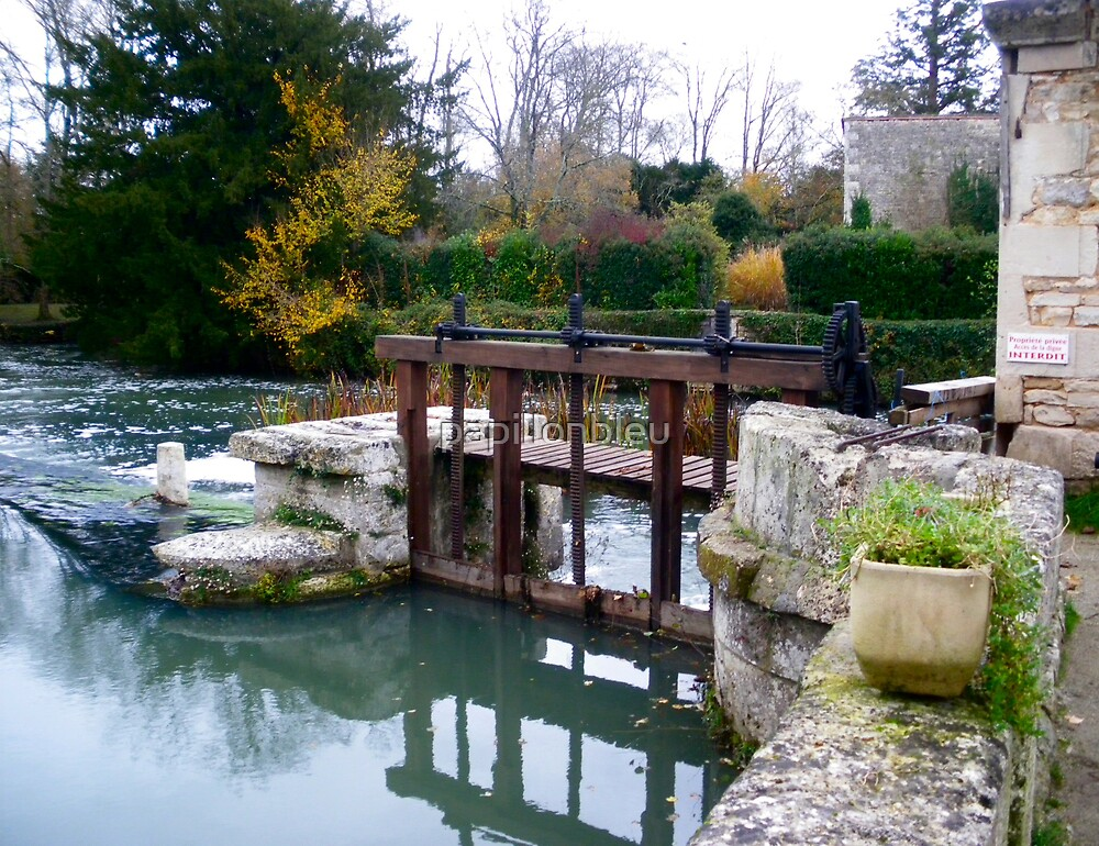 Weir at Verteuil by Pamela Jayne Smith
