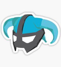 Skyrim Dragonborn Helmet Sticker