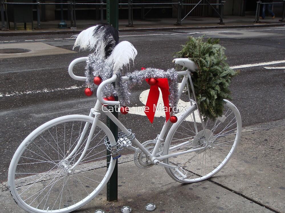 Holiday Ghost Bike by Catherine Mardix