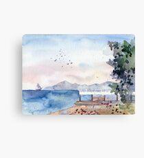 Plein Air Canvas Print