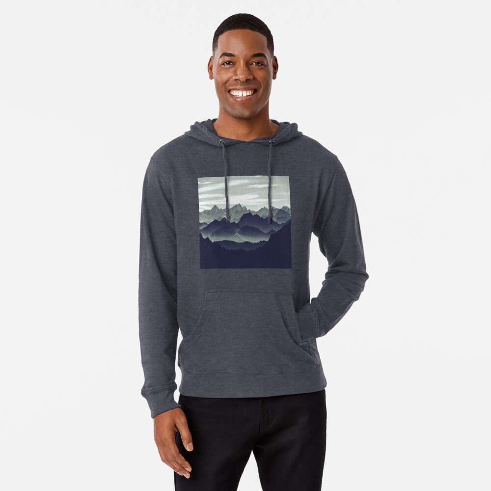 Mountains are calling for us Lightweight Hoodie