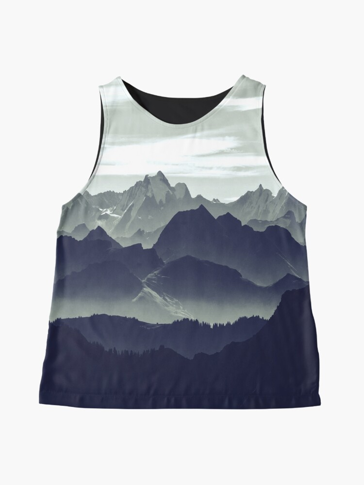Alternate view of Mountains are calling for us Sleeveless Top