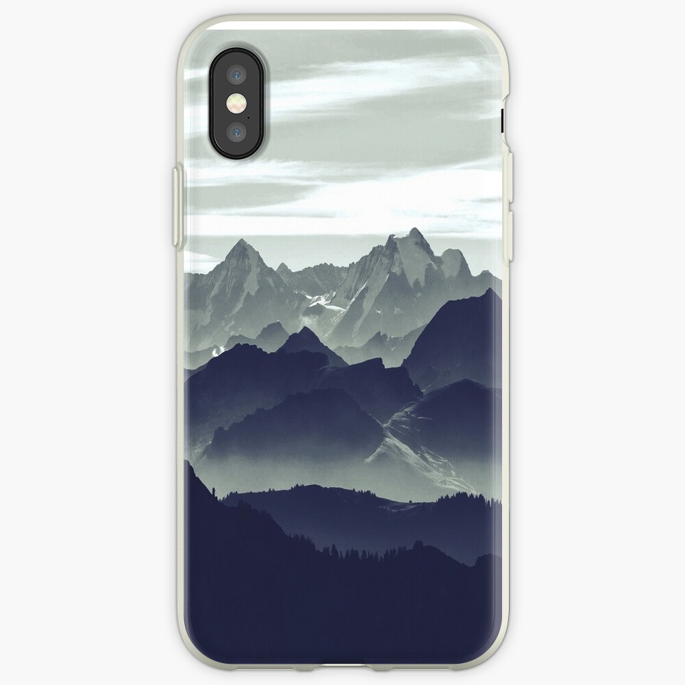 Mountains are calling for us iPhone Case & Cover