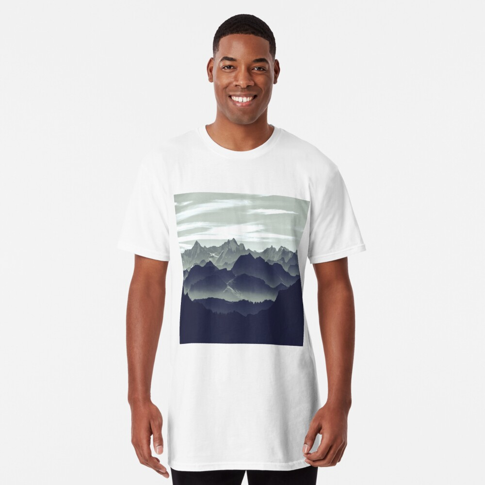 Mountains are calling for us Long T-Shirt