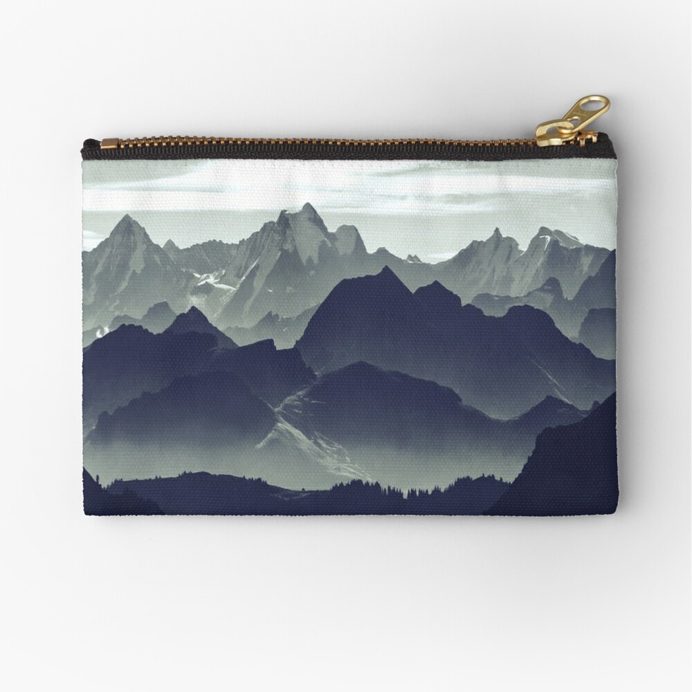 Mountains are calling for us Zipper Pouch