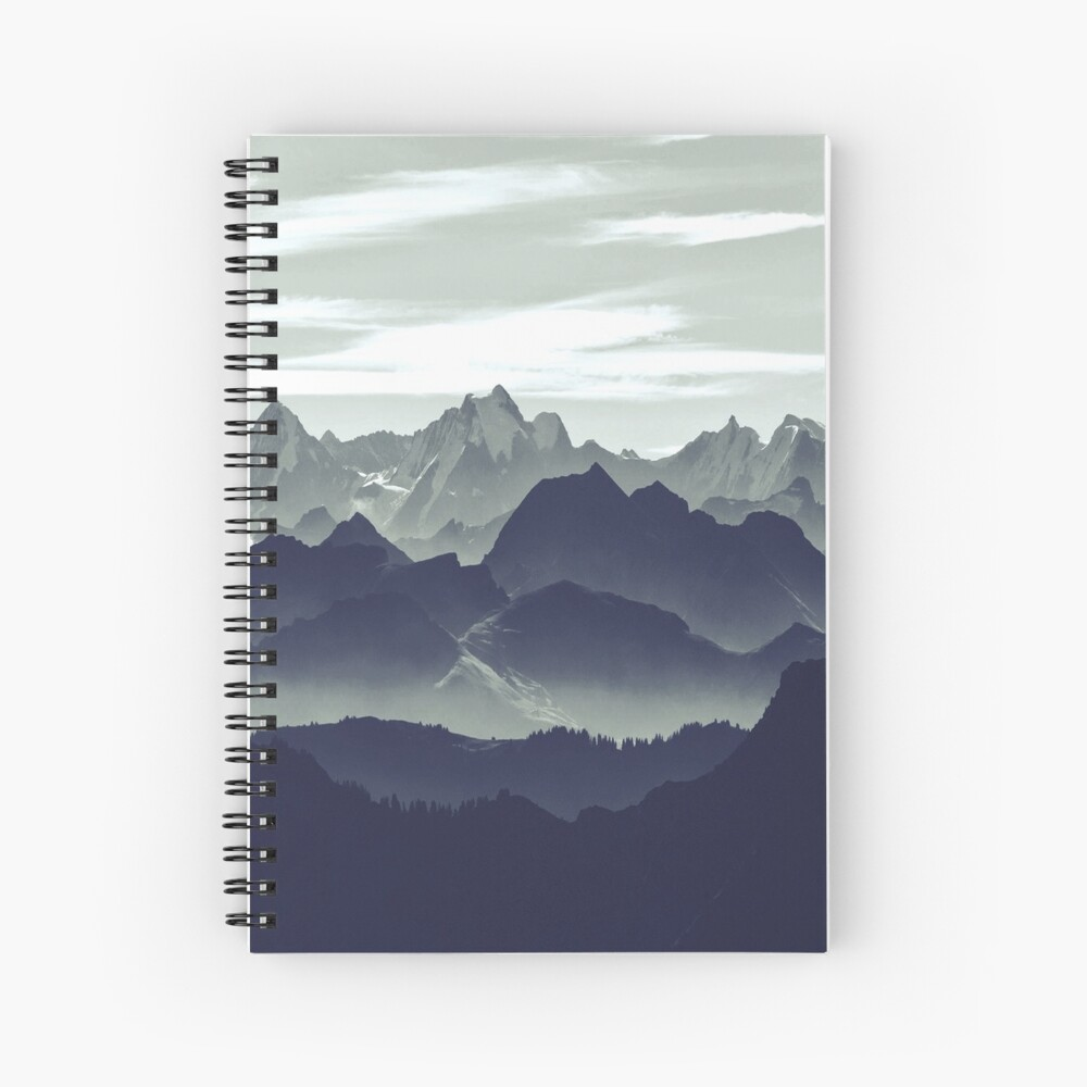 Mountains are calling for us Spiral Notebook