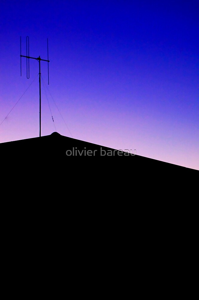 Blue Antena by olivier bareau