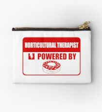 horticultural therapist, horticultural,  therapist, powered Studio Pouch
