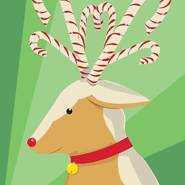 Gingerbread Reindeer by laurenbull16