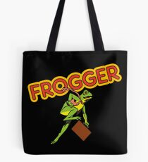 Frogger Cabinet Art Tote Bag