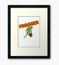 Frogger Cabinet Framed Print