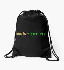 Linux Programmer Drawstring Bag