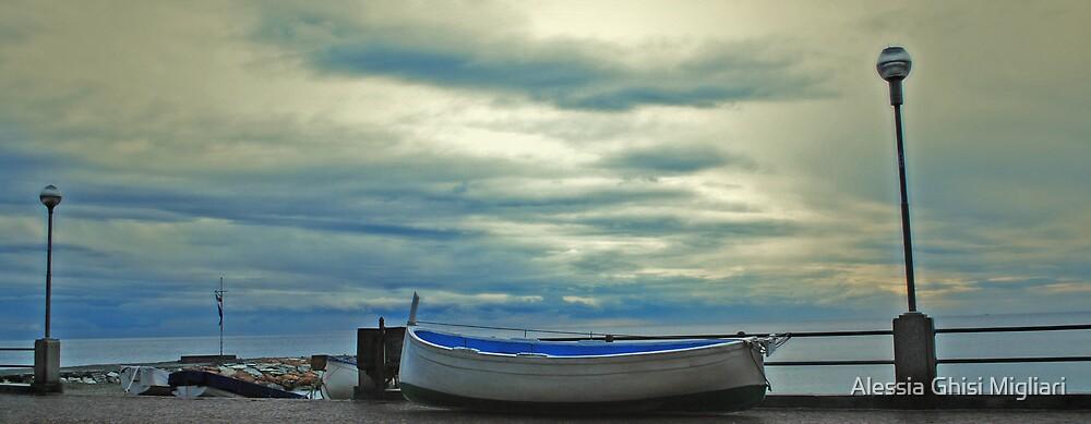 Senza rada (così io sono) - versione colore. by Alessia Ghisi Migliari