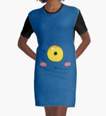 Swig Face Graphic T-Shirt Dress
