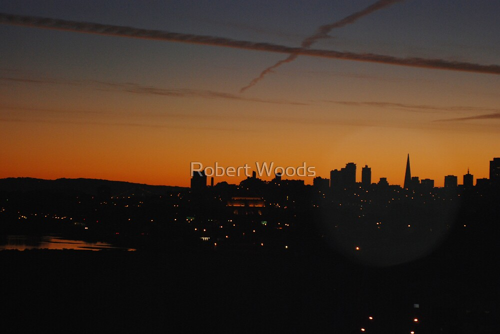 San Francisco After Dark by Robert Woods
