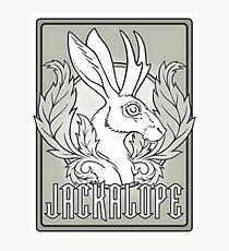 Jackalope  Photographic Print